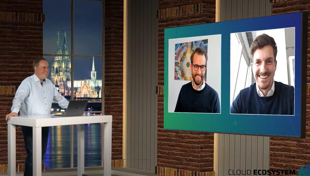 Cloud Ecosystem LIVE – mit Christopher Becker  und Christian Ritosek, CANDIS