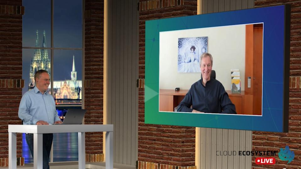 Cloud Ecosystem LIVE – mit Dr. Jörg Haas von Scopevisio
