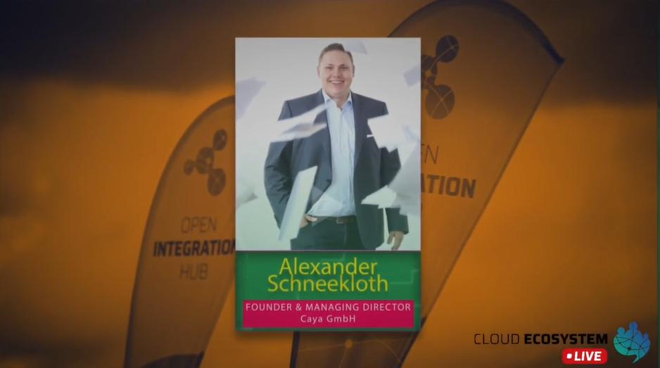 Cloud Ecosystem LIVE – mit Alexander Schneekloth von CAYA