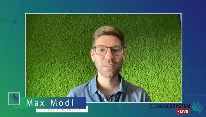 Cloud Ecosystem LIVE – mit Max Modl von Sendinblue