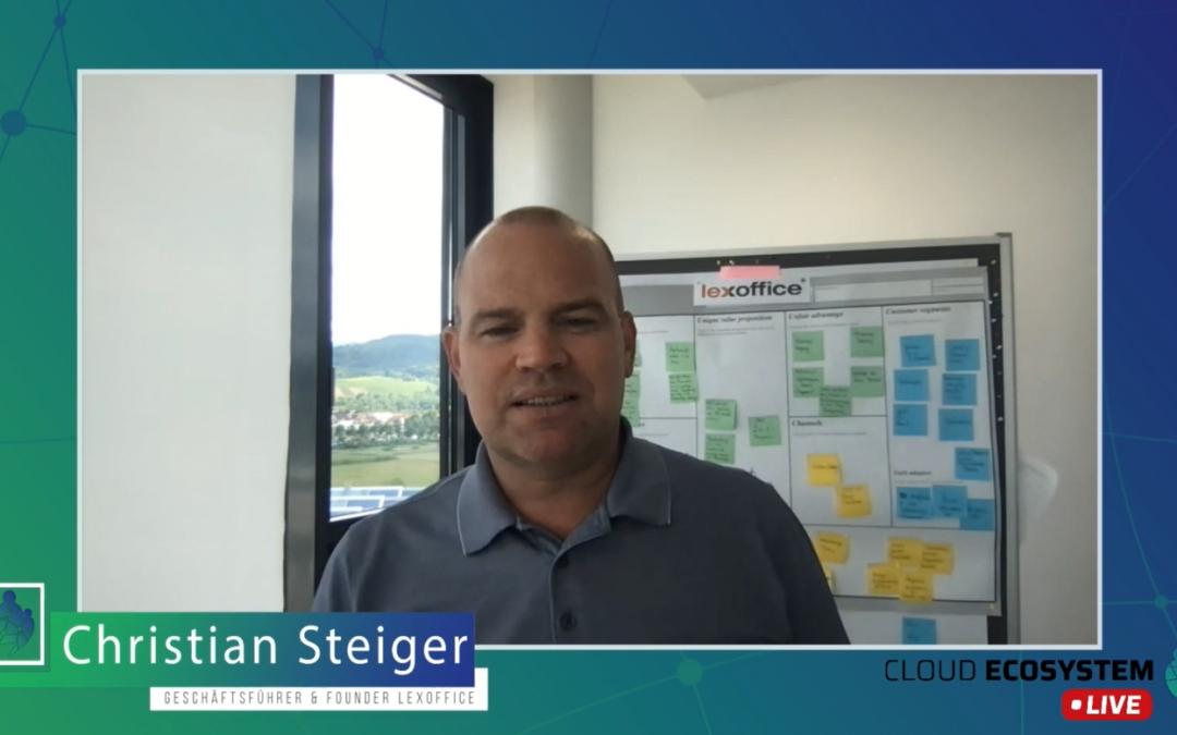 Cloud Ecosystem LIVE – mit Christian Steiger von Lexware